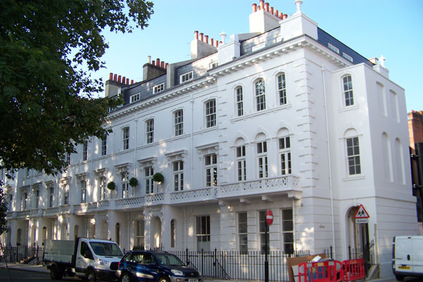 Hereford Square Full Stucco Facade