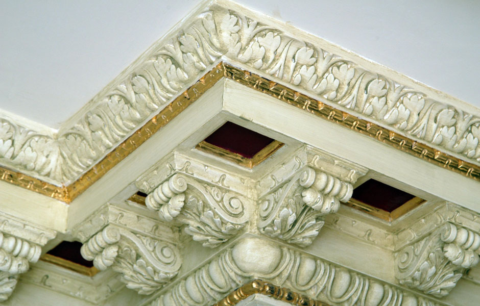 Charles Street Cornice With Modillion Block