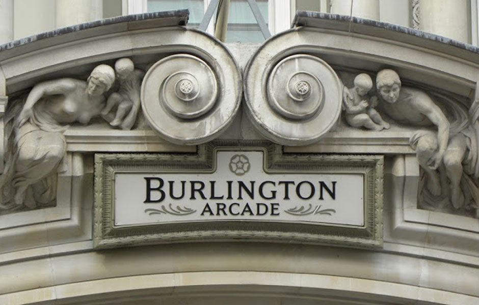 Burlington Arcade Entrance