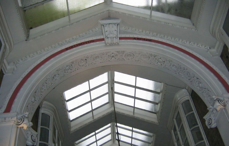 Burlington Arcade Before Restoration