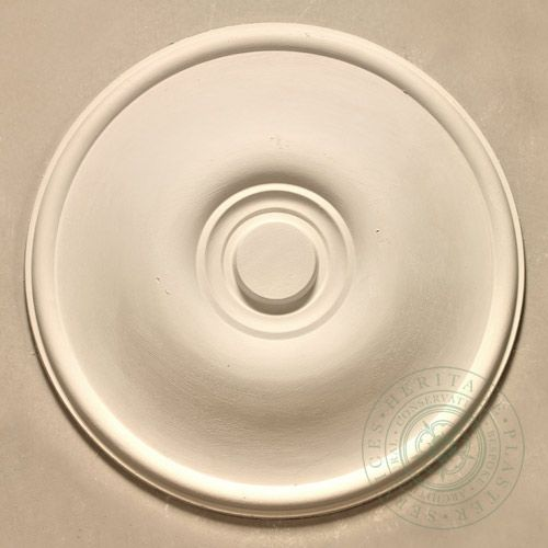 CR2 Medium Plain Ceiling Rose