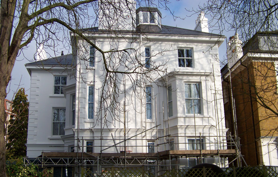 Phillimore Gardens Architectural External Mouldings