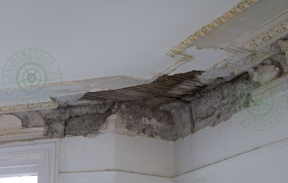 Historic Damage Revealed After Paint Removal