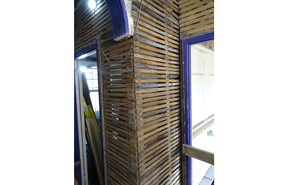 Laths for Lime Plaster
